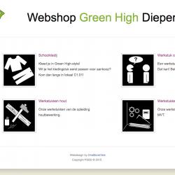 Webshop PSSD Green High