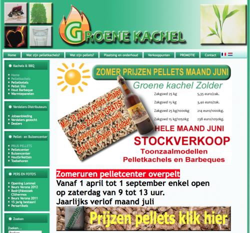 Groene Kachel