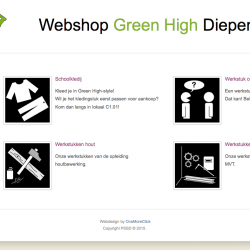 Webshop PSSD Green High